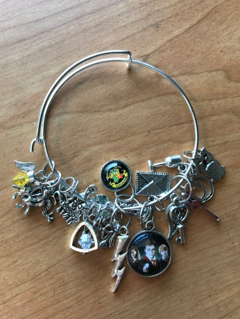 Harry Potter stitch marker bracelet